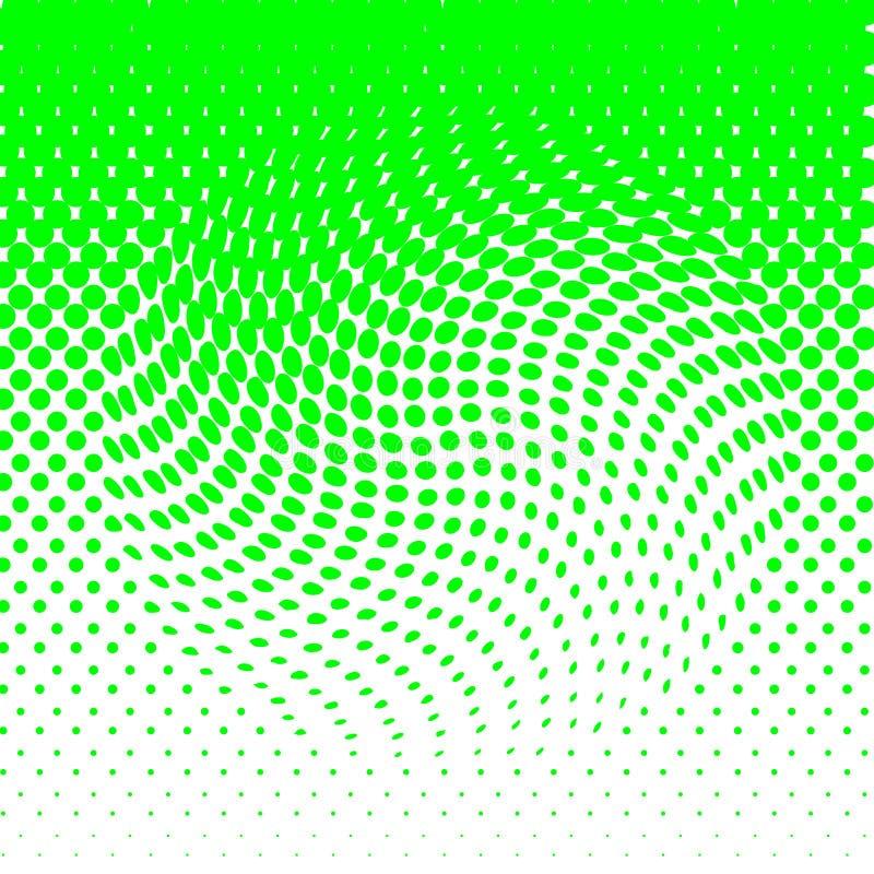 tło abstrakcyjna green royalty ilustracja