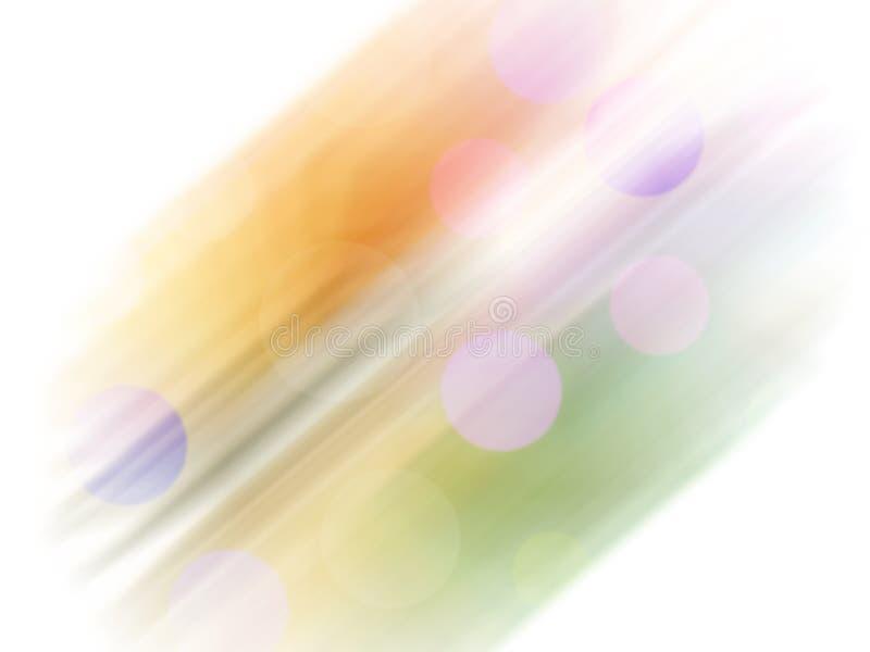 tło abstrakcyjna rainbow Kreatywnie graficzny tło z bo royalty ilustracja