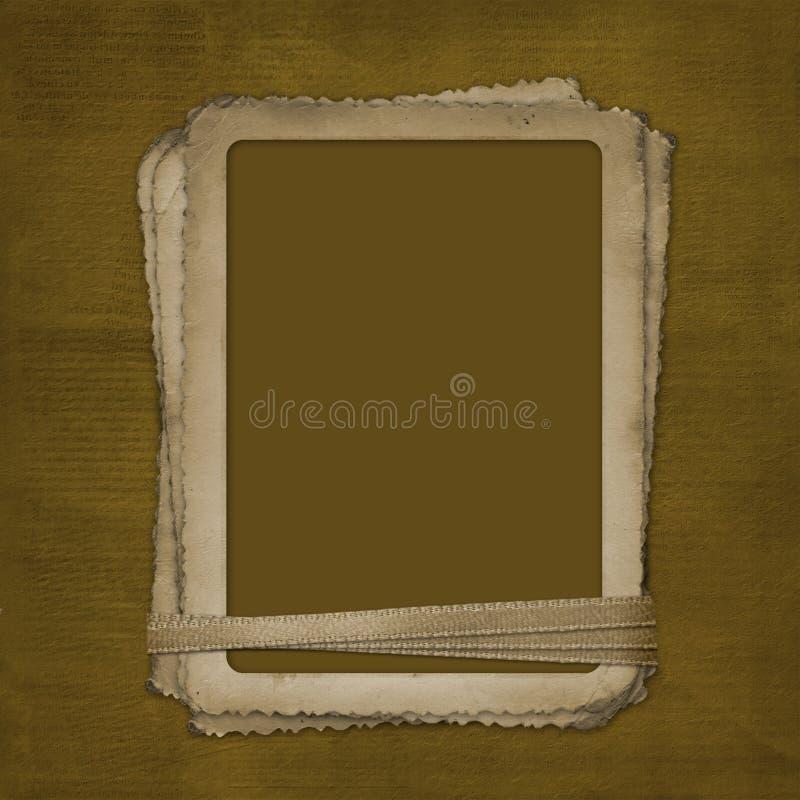 tło abstrakcyjna ramy grunge zdjęcie ilustracji