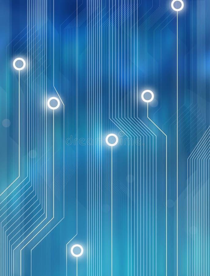 tło abstrakcyjna technologii royalty ilustracja