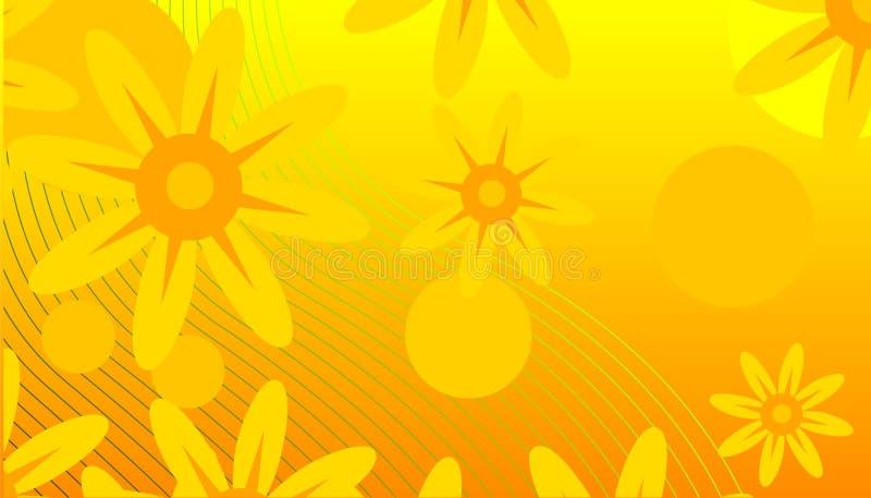tło abstrakcyjna wiosny ilustracja wektor