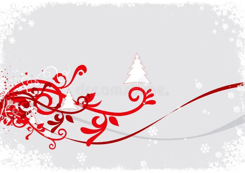tło abstrakcyjna zimy. ilustracja wektor