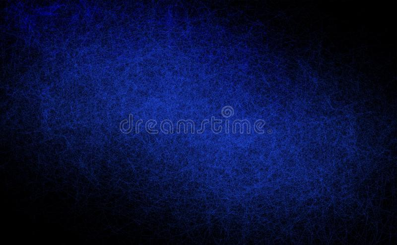 Tło abstrakcyjne niebiesko-czarne tapeta tła o strukturze rozpadu zniekształcona przez grunge zdjęcie royalty free