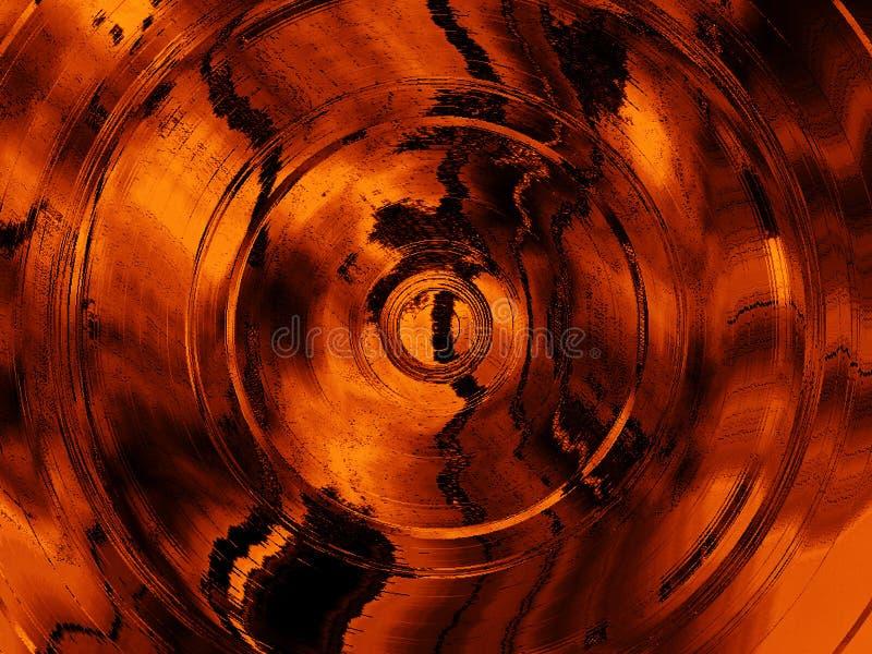 tło abstrakcyjne okrąża grunge strukturę ilustracja wektor