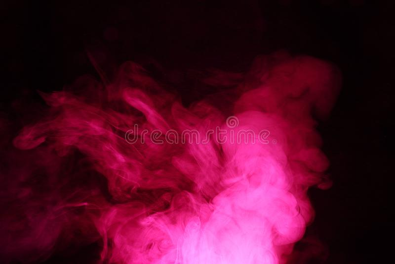 Tło abstrakt barwiący dym Gwiazdowe mgławicy zdjęcia royalty free