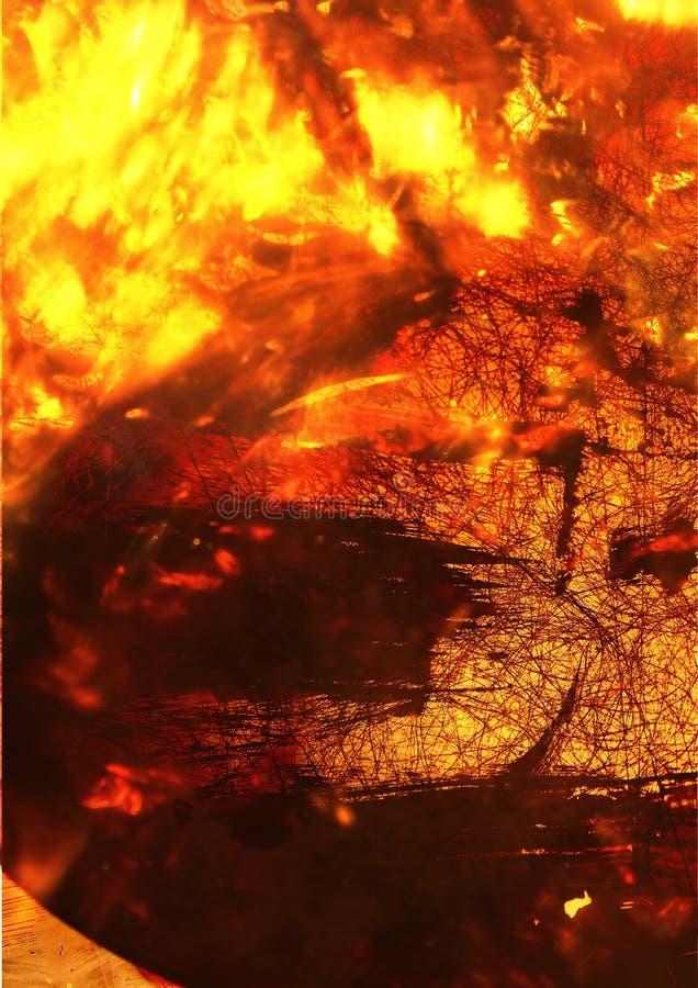 Tło abstrakt Wrzesień obrazy stock