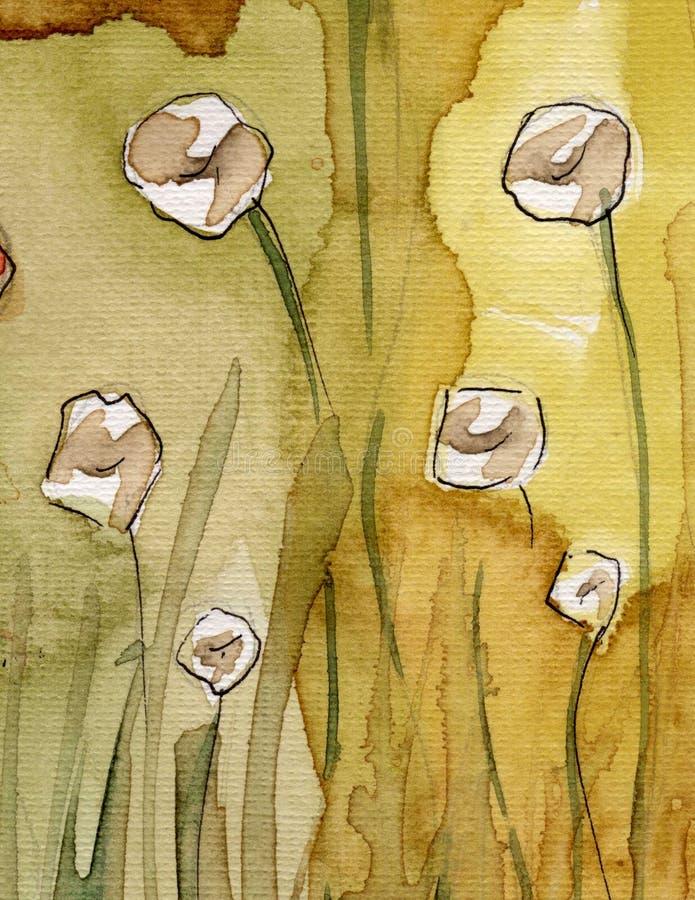 Tło artystyczna akwarela ilustracji