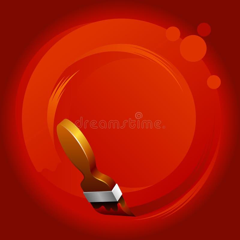 tło artystyczna pomarańcze royalty ilustracja