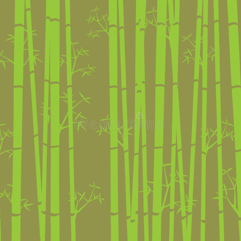 tło bambus royalty ilustracja