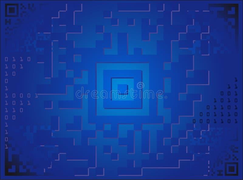 tło barcodes ilustracji