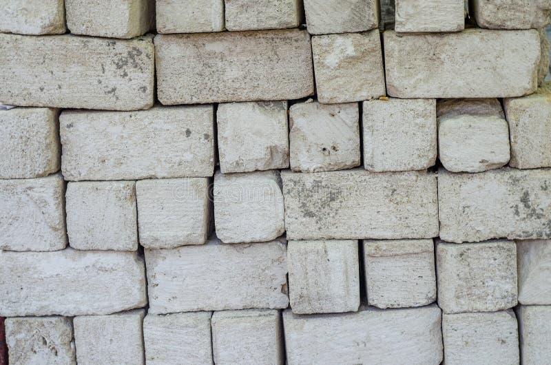 Tło, białe cegły zdjęcie stock