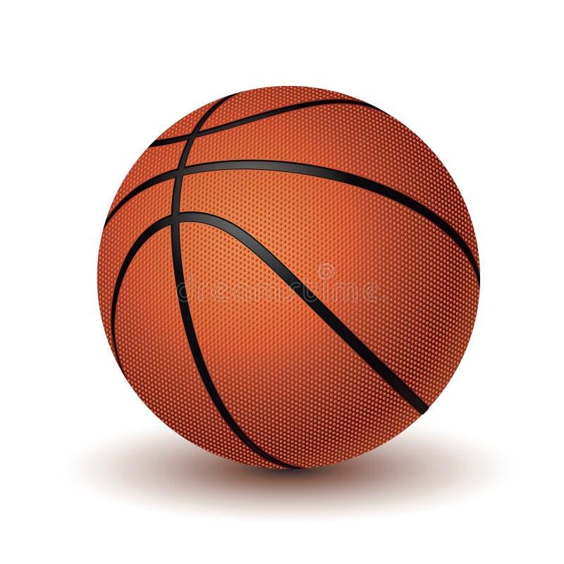 tło białe odosobnione balowej koszykówki zdjęcie stock