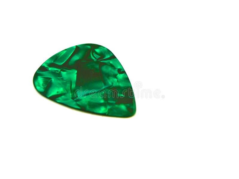 tło białe plektronu gitary wyboru zdjęcia stock