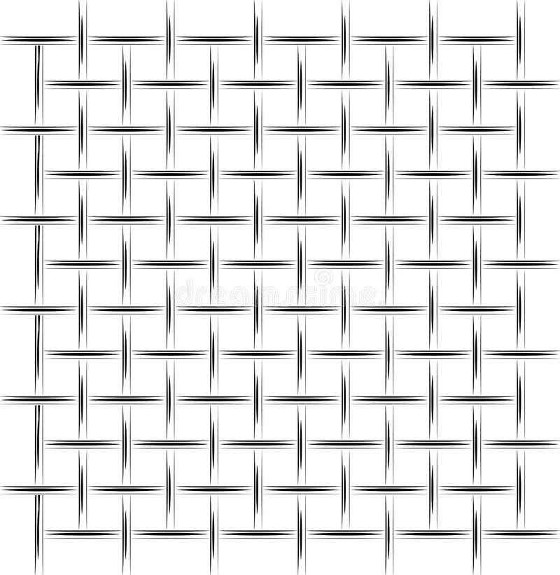 Tło białego metalu czarna siatka Uproszczony rysunek Dla artykułu na budowie, obronie lub więzieniu, ilustracji