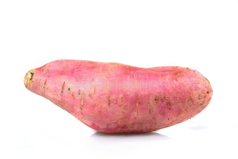 tło biel odosobniony kartoflany słodki zdjęcia royalty free