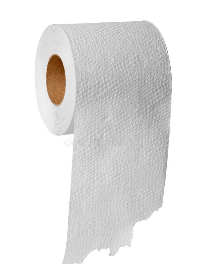 tło biel papierowy toaletowy zdjęcia stock