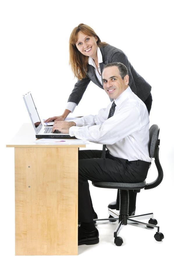 tło biznesu drużyny biel zdjęcia stock