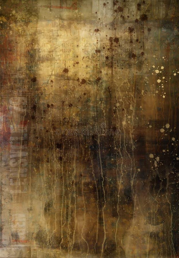 tło blaknący będącym ubranym ilustracja wektor