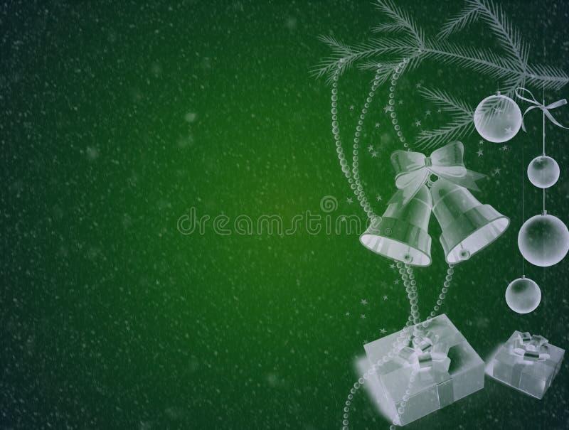 Tło bożonarodzeniowe, piękny abstrakcyjny ilustracja wektor