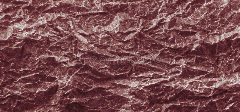Tło Burgundy miąca papierowa panorama zdjęcie royalty free