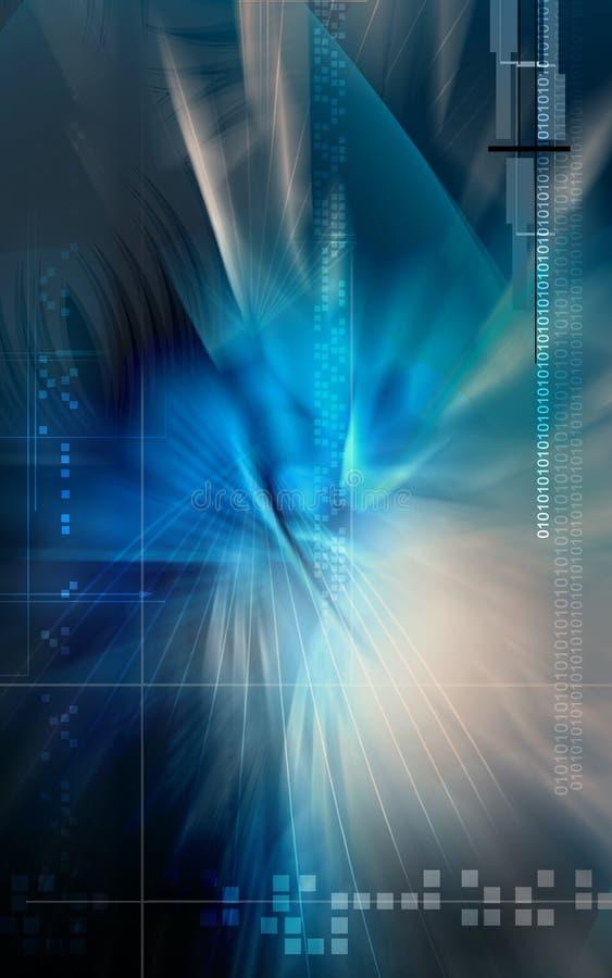 tło cyfrowy ilustracja wektor