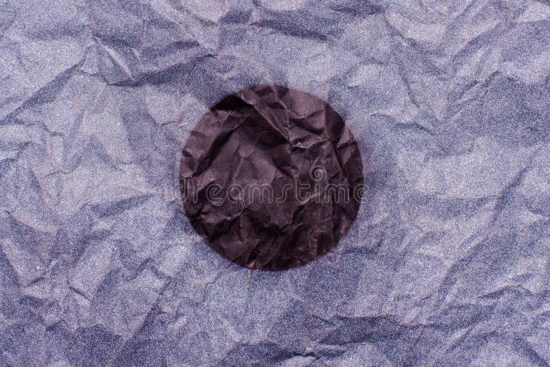 Tło czarny zmrok - błękitna purpura z miejscem dla teksta fotografia royalty free