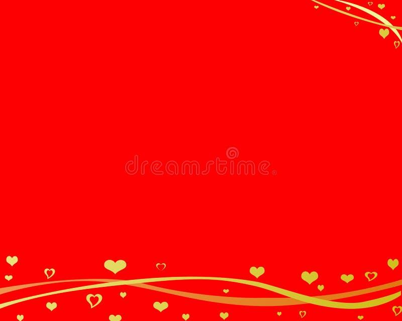 tło czerwień royalty ilustracja