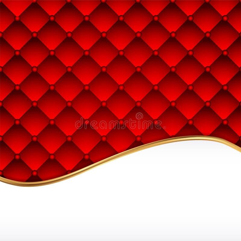 Tło czerwona skóra royalty ilustracja