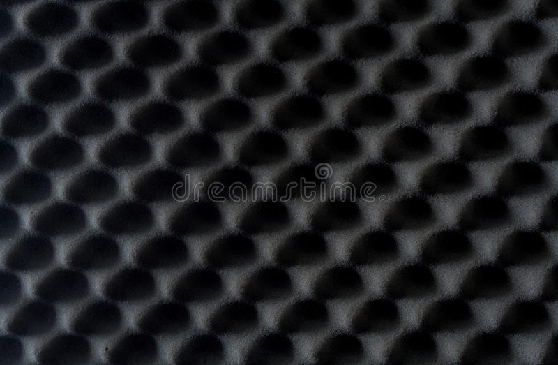Tło dźwiękochłonna gąbka, ścienny soundproofing zdjęcie stock