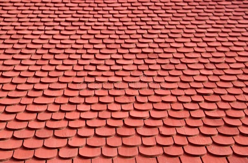 Tło Dachu Drewnianego obrazy royalty free