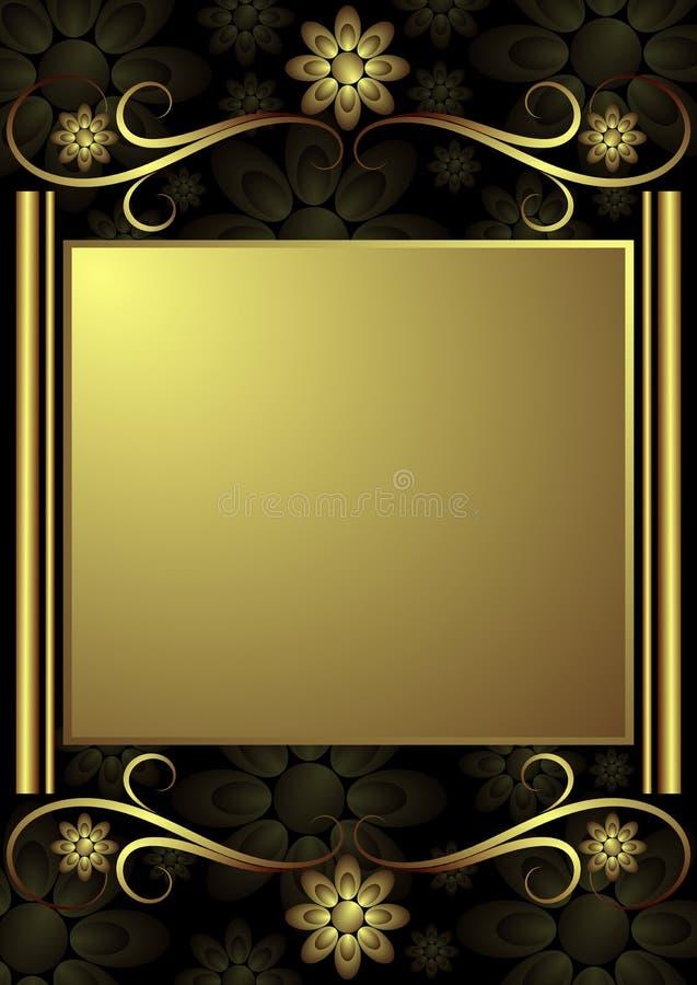 tło dekoracyjny royalty ilustracja