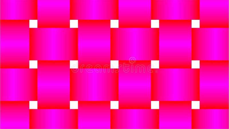Tło dla prostokąt kształtuję grupowy Składać się z harmoniously gniazdujący prostokąty i atrakcyjni kolory z col, magenta i czerw royalty ilustracja