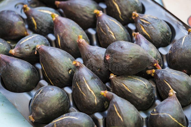 Tło dojrzałe figi bez GMOs zdjęcia royalty free