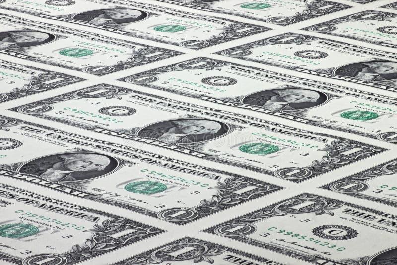 tło dolary odizolowywali my biały obrazy royalty free