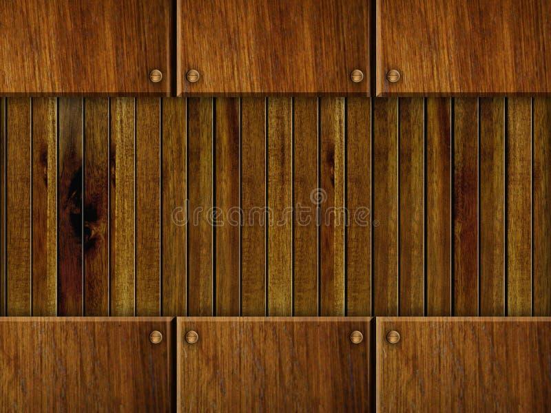 tło drewniany royalty ilustracja