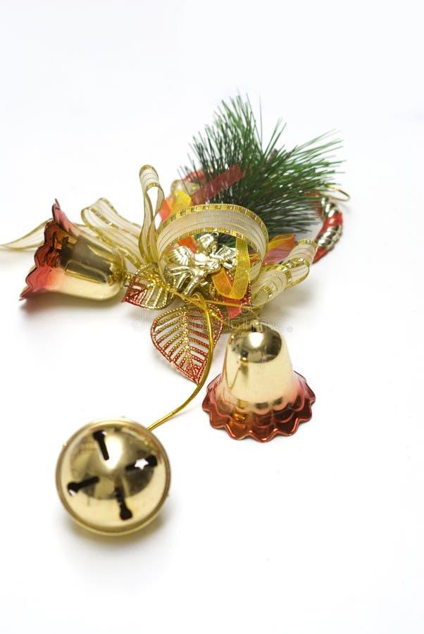 tło dzwonkowe bożych narodzeń dekoracje biały zdjęcia royalty free