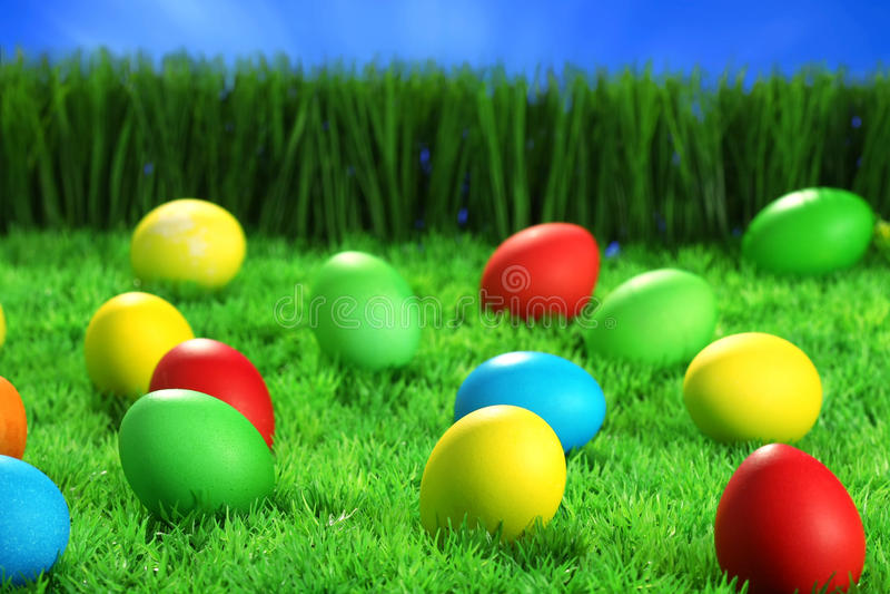 tło Easter zdjęcia royalty free