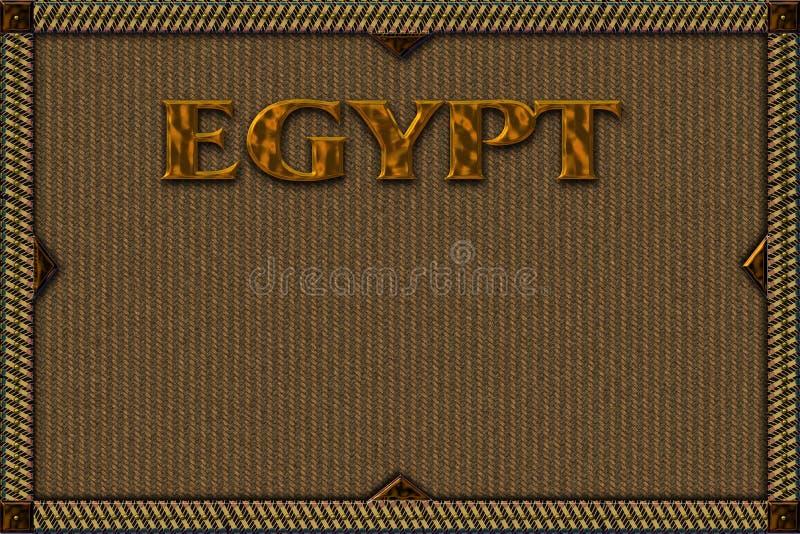 tło Egypt royalty ilustracja