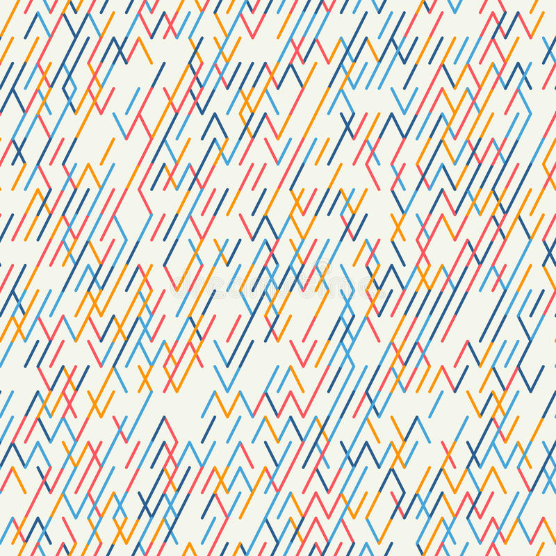 tło geometrycznego abstrakcyjne bezszwowy wzoru royalty ilustracja