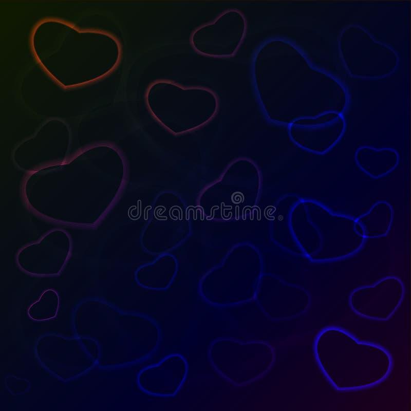tło grępluje serc bezszwowe kostiumów valentine tapety dobrze fotografia royalty free