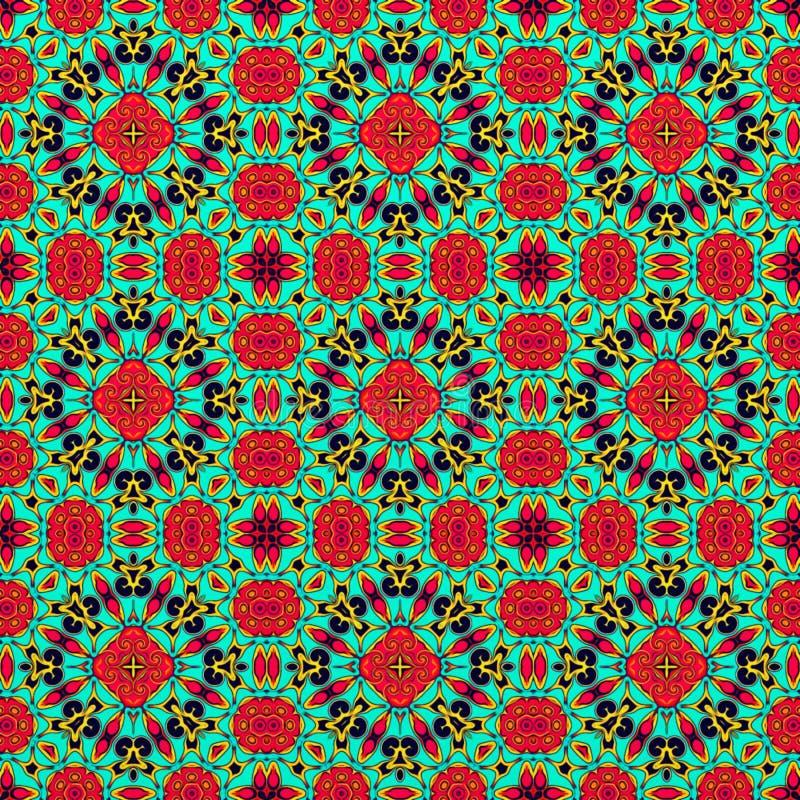 tło grafika zamknięte komputerowe odizolowywali w górę biel Ilustracja abstrakcjonistyczny tło, psychodeliczny symetryczny dekora obraz stock