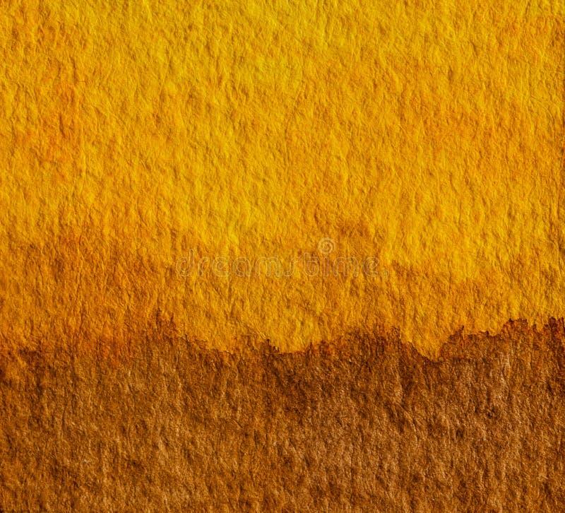 Tło grafiki w kolorze żółtym i brązowym Koncepcja tonowa Ziemi dla naturalnych kolorów gruntu lub gruntu zdjęcie royalty free