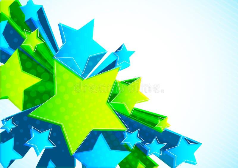 tło gwiazda ilustracji