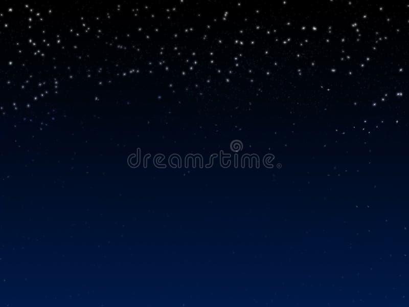 tło gwiazdy ilustracji
