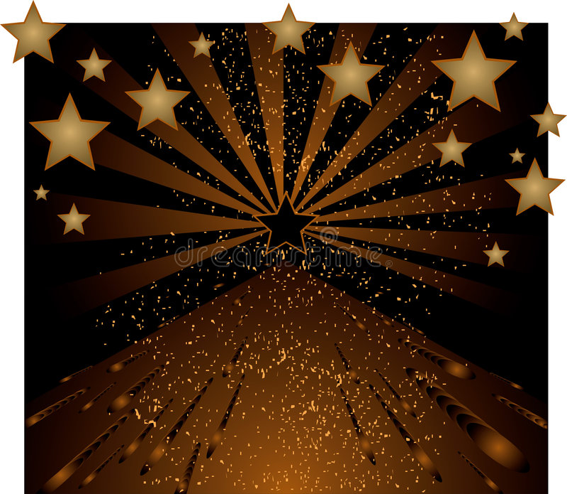 tło gwiazdy royalty ilustracja
