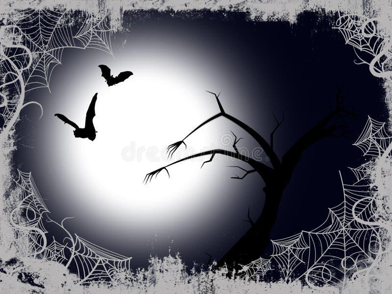 tło Halloween royalty ilustracja