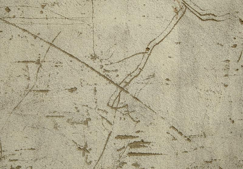 Tło i tekstura stary beton Narysy na betonie fotografia stock