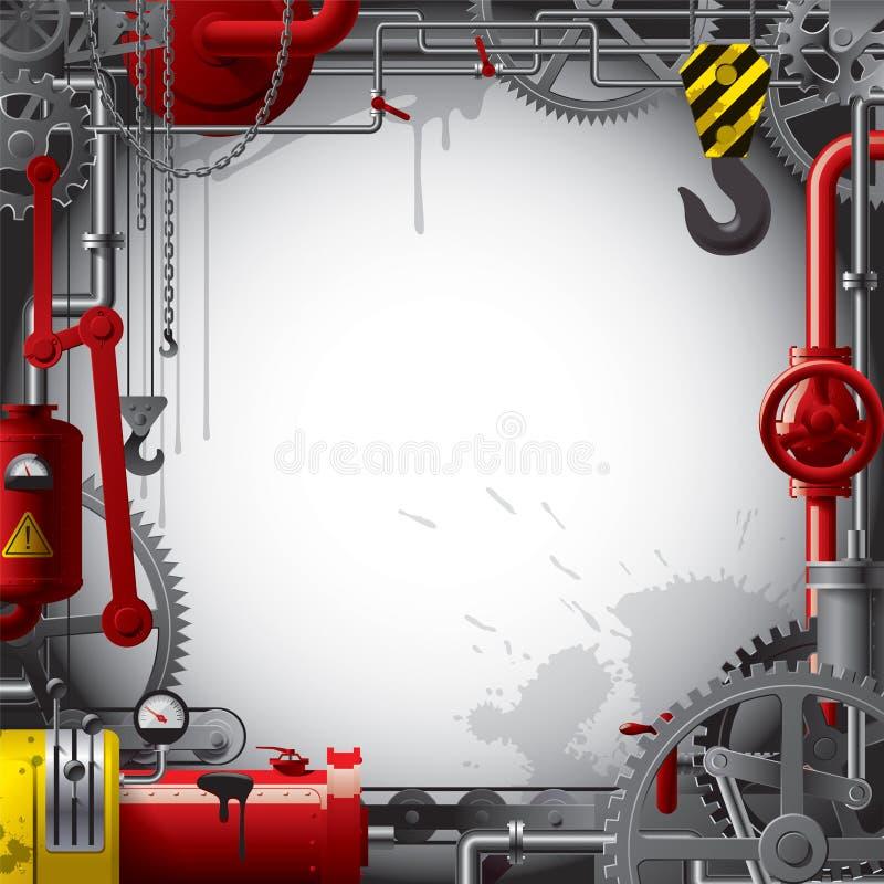 tło inżynieria ilustracja wektor