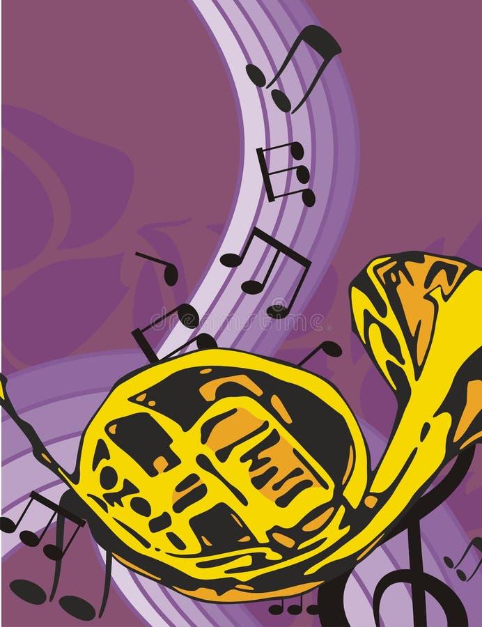 tło instrumentu muzyki ilustracja wektor