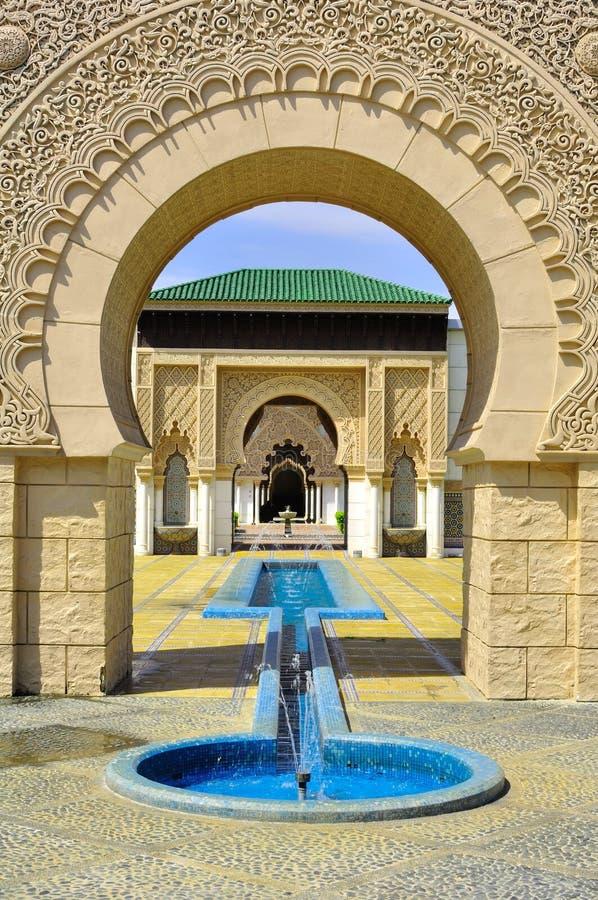 Tło islamska szczegół architektura obraz royalty free